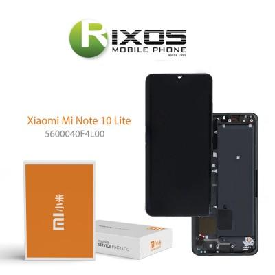 Xiaomi Mi Note 10 Lite Display unit complete tarnish 5600040F4L00