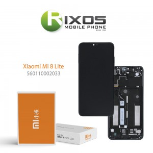 Xiaomi Mi 8 Lite, Mi 8X Display unit complete midnight black (Service Pack) 560110002033
