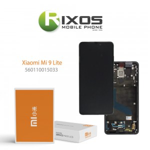 Xiaomi Mi 9T (M1903F10G) Mi 9T Pro (M1903F11G) Display unit complete (Service Pack) carbon black 560110015033