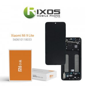 Xiaomi Mi 9 Lite Display unit complete onyx grey (Service Pack) 560610118033