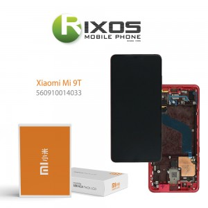 Xiaomi Mi 9T (M1903F10G) Mi 9T Pro (M1903F11G) Display unit complete (Service Pack) red flame 560910014033