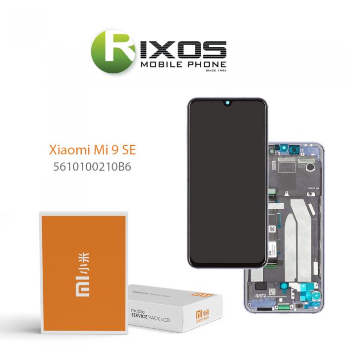 Xiaomi Mi 9 SE (M1903F2G) Display unit complete blue 5610100210B6
