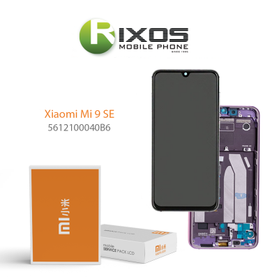Xiaomi Mi 9 SE (M1903F2G) Display unit complete violet 5612100040B6