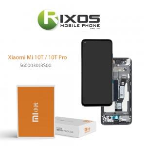 Xiaomi Mi 10T / 10T Pro Lcd Display unit complete cosmic black 5600030J3S00