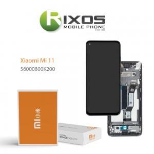 Xiaomi Mi 11 Lcd Display unit complete black 56000800K200