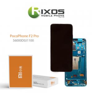 56000D0J1100-Xiaomi Poco F2 Pro LCD Display / Screen + Touch Blue / Green 56000D0J1100