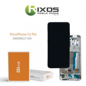 Xiaomi Poco F2 Pro Display unit complete white (Service Pack) 56000E0J1100