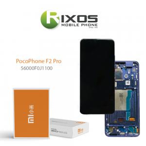 Xiaomi Poco F2 Pro Display unit complete purple (Service Pack) 56000F0J1100