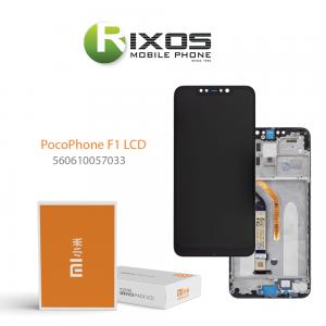 Xiaomi Pocophone F1 Display unit complete (Service Pack) black 560610057033