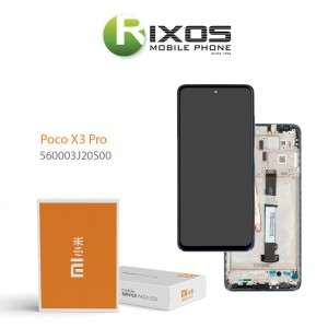 Xiaomi Poco X3 Pro Lcd Display unit complete Blue 560003J20S00