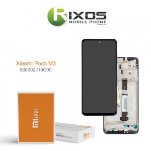 Xiaomi Poco M3 Display unit complete black 560002J19C00